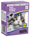 Корм для кошек Bozita Turkey кусочки в желе с индейкой 370г