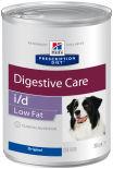 Влажный корм для собак Hills Prescription Diet i/d Low Fat при расстройствах пищеварения и панкреатите 360г