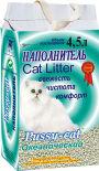 Наполнитель для кошачьего туалета Pussy-Cat Океан впитывающий 4.5л
