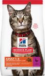 Сухой корм для кошек Hills Science Plan Optimal Care Утка 10кг