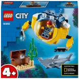 Конструктор LEGO City Oceans 60263 Океан: мини-подлодка