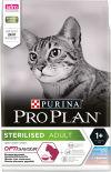 Сухой корм для стерилизованных кошек Pro Plan Optisavour Sterilised с треской и форелью 1.5кг