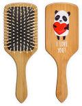 Расческа для волос Bradex Влюбленная панда деревянная массажная