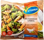 Смесь овощная Vитамин Испанская в соусе Ривейра быстрозамороженная 400г