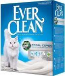 Наполнитель для кошачьего туалета Ever Clean Total Cover с микрогранулами двойного действия 10л