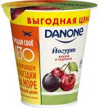Йогурт Danone Вишня-черешня 2.8% 260г