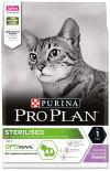Сухой корм для стерилизованных кошек Pro Plan Optirenal Sterilised Adult с индейкой 3кг