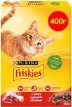 Сухой корм для кошек Friskies с мясом курицей и печенью 400г