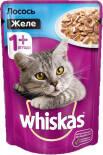 Корм для кошек Whiskas Желе с лососем 85г