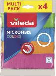 Салфетка Vileda Colors из микрофибры 4шт