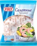Креветки Vici Салатные очищенные варено-мороженые 300г