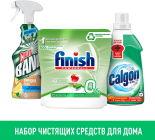 Набор чистящих средств для дома Гель для смягчения воды Calgon 650мл; Таблетки для посудомоечных машин Finish 42шт; Средство чистящее Cillit Bang Природная сила для ванной 450мл