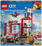 Конструктор LEGO City Fire 60215 Пожарное депо