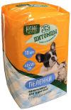 Пеленки одноразовые Home Story для животных с суперабсорбентом 60*40см 10шт