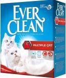 Наполнитель для кошачьего туалета Ever Clean Multiple Cat для нескольких кошек в доме 6л