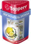 Поглотитель запаха Topperr для холодильника уголь лимон