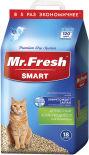 Наполнитель для кошачьего туалета Mr.Fresh Smart для короткошерстных кошек 18л
