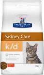 Сухой корм для кошек Hills Prescription Diet k/d при заболеваниях почек с курицей 1.5кг