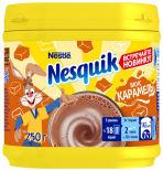Какао-напиток Nesquik быстрорастворимый со вкусом карамели 250г