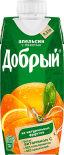 Нектар Добрый Апельсин с мякотью 330мл