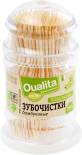 Зубочистки Qualita бамбук 200шт