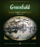 Чай черный Greenfield Earl Grey Fantasy 100 пак