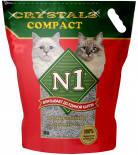 Наполнитель для кошачьего туалета №1 Crystals compact 10л