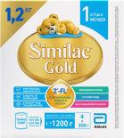 Смесь Similac Gold 1 Молочная с 0 месяцев 1.2кг
