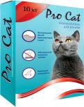 Наполнитель для кошачьего туалета Pro Cat Regular комкующийся из экстра белой глины 10кг