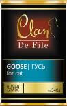 Корм для кошек Clan De File Гусь 340г
