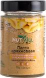Паста арахисовая Nutvill с кусочками арахиса без сахара 180г