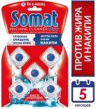 Средство чистящее для посудомоечных машин Somat Machine Cleaner Duo 5шт