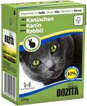 Корм для кошек Bozita Кусочки в соусе с кроликом 370г
