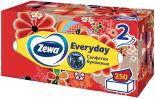 Салфетки бумажные Zewa Everyday косметические 2 слоя 250шт