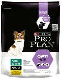 Сухой корм для пожилых собак Pro Plan Optiage Small&Mini Adult 9+ для мелких пород с курицей 700г