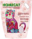 Наполнитель для кошачьего туалета Homecat Роза 7.6л