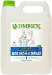Средство для мытья окон и зеркал Synergetic 5л