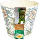 Горшок цветочный Ingreen Easy Grow 4л цветочный дом
