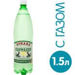 Вода Кармадон минеральная лечебно-столовая газированная 1.5л