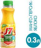 Коктейль J7 Полезный завтрак Яблоко персик манго 300мл