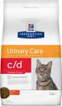 Сухой корм для кошек Hills Prescription Diet c/d Urinary Stress для профилактики цистита и МКБ с курицей 1.5кг