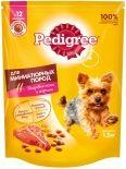 Сухой корм для собак Pedigree Mini для миниатюрных пород с говядиной 1.2кг