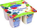Продукт йогуртный Alpenland Лесная ягода Яблоко-груша 0.3% 95г