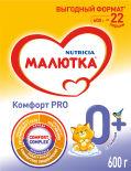 Смесь Малютка Комфорт Pro молочная С 0 месяцев 600г
