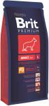 Сухой корм для собак Brit Premium Adult Large с курицей 15кг