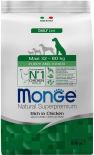 Корм для щенков Monge Dog Maxi для крупных пород 800г