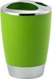 Стакан для зубных щеток Swensa Альма зеленый