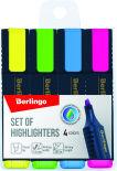 Набор текстовыделителей Berlingo Textline HL500 1-5мм 4 цвета