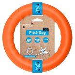 Игрушка для собак PitchDog Кольцо оранжевый