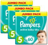 Подгузники Pampers Active Baby-Dry 11–16кг Размер 5 60шт